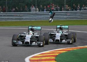Prošle godine je Rosberg probušio gumu Hamiltonu i trebalo mu je tjedan dana da mu dođe do mozga da je možda ipak on kriv što je kolegi uništio utrku..