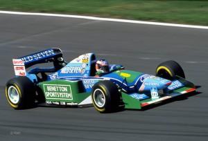 Veliki Michael Schumacher je svoj prvi naslov osvojio u Benettonu s Renaultovim motorom