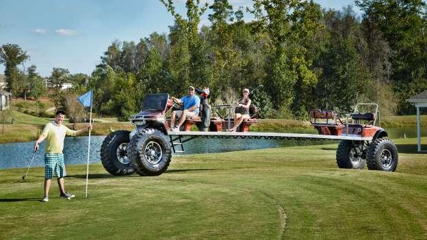 Najdulje golf vozilo dugo je 9.62 metara i ne vidi mu se smisao osim da je u Gunessovoj knjigi rekorda..