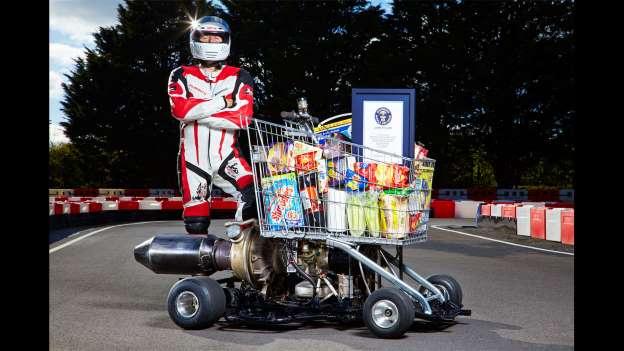 Ovo već ima smisla. Najbrža kolica za samoposlugu. Kad poludite od brzine Konzumovih blagajnica, možete odjuriti s 70 km/h..