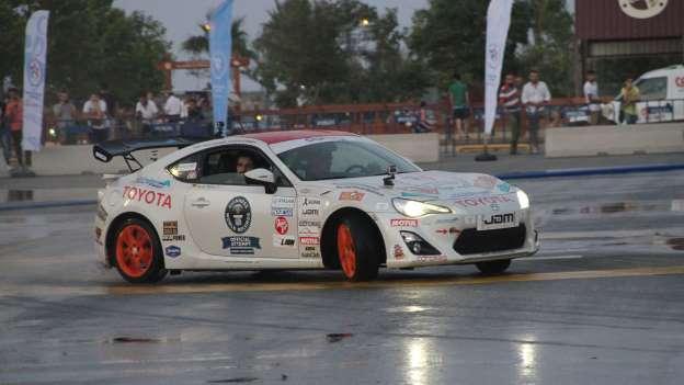 Najdulji drift iznosio je 144 km a Harald Mueller obavio ga je u Toyoti GT86. Ma kaj je to za naše dečke na Mičevecu..