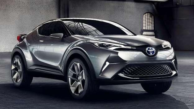 Toyota C-HR crossover za mlađu populaciju.