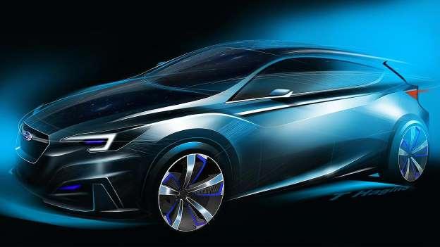 Subaru Imprezza concept. Treba li još što reći ?