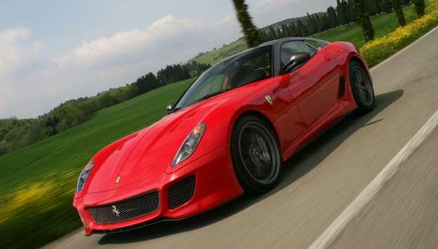 Ferrari 599 GTO. Sad malo po Apeninima. Autostradom del sole 334.7