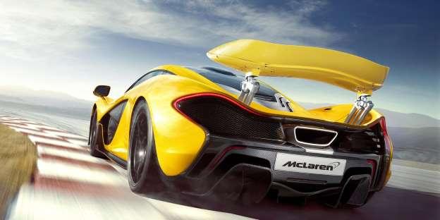 McLaren P1. Impresivan kao i F1: 349.2