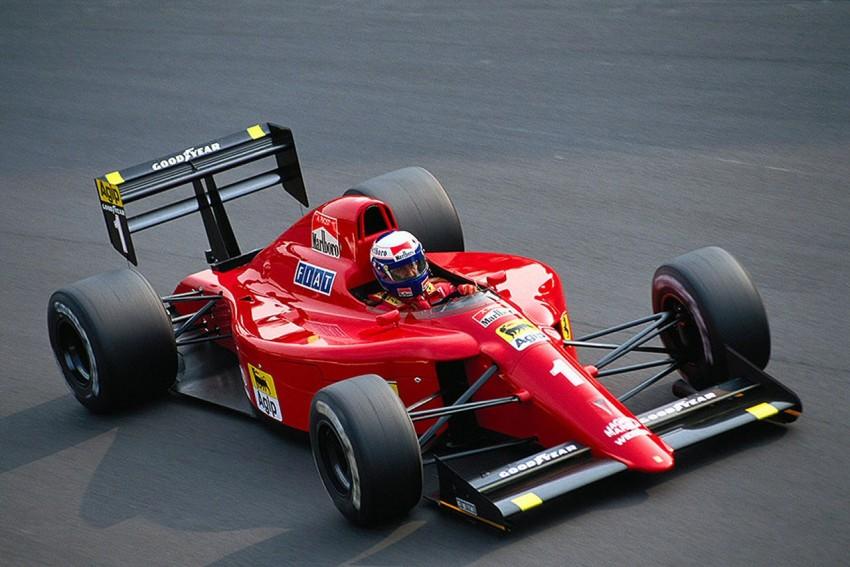 Ferrari 641. Da li je ovo najljepši Ferrari ikada ? Sigurno je da je imao jedan od najboljih dvojaca ikada: Alain Prost i Nigel Mansell. U 1990. njih su dvojica pokupila šest GP-a i zamalo otela naslov Ayrtonu Senni. Gledajući ovaj auto, jasno je zašto je početak 90-ih možda najplodnije razdoblje F1 designa..
