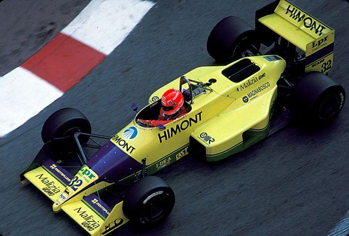 Coloni je živio od 1987. do 1991. i u 82 utrke uspio se za utrku kvalificirati samo 14 puta. Završio je samo četiri utrke. U 1990. se čak probalo s motorom Subarua. Tako se 1991. sve prodalo Andrei Modi. Ime Colini vozilo je kasnije u F3000 i GP2