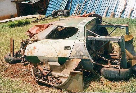 Svakom Talijanu i ljubitelju relija ovo je velika rana. Lancia Stratos zaboravljena u nekom dvorištu..