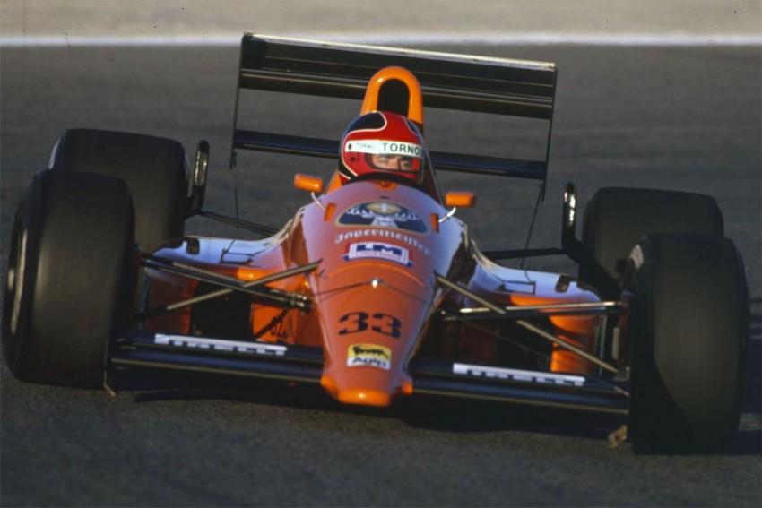 Eurobrun je s Cosworthom probao i završio nekoliko utrka 1988. U 76 pokušaja uspjelo se u 26 startati.