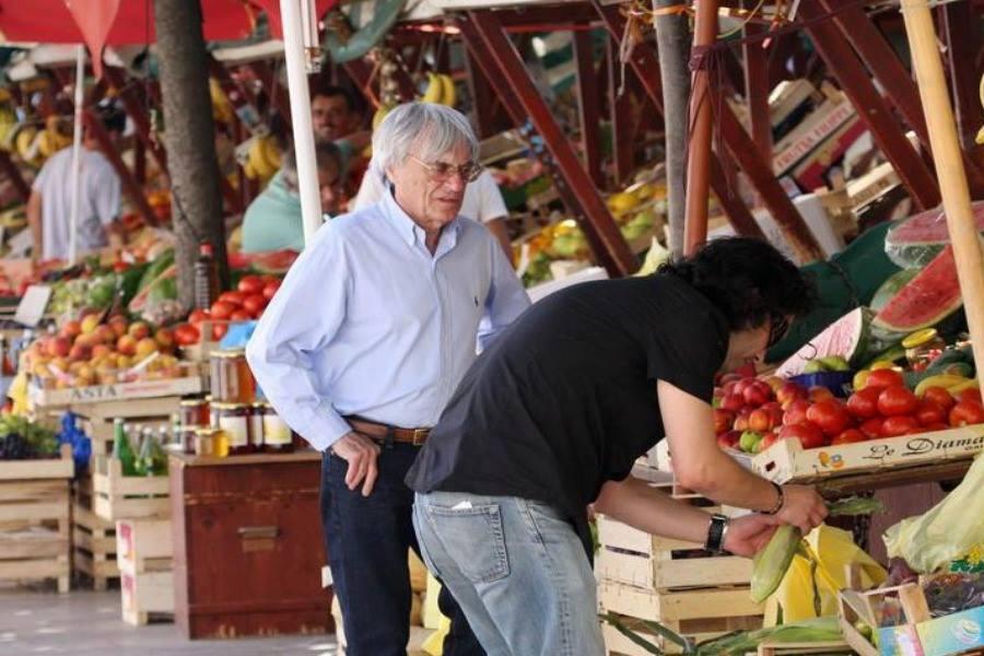 Bernie se uglavnom bavio nabavkom povrća (slika iz Trogira)