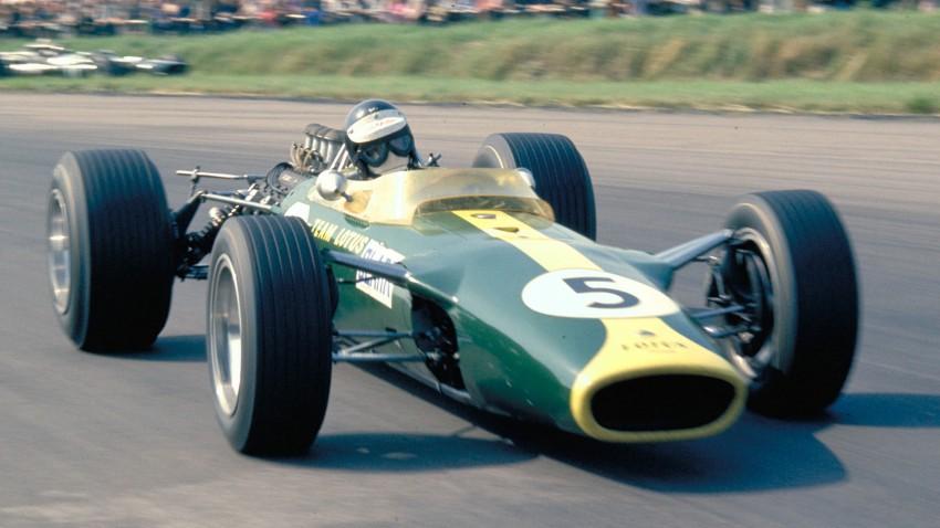 Prvi veliki prvak Lotusa bio je Jimmy Clark